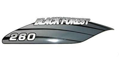 Sticker tank r/h BlackForest