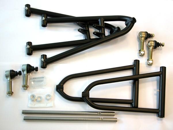 A-Arm kit Black Yamaha Raptor7