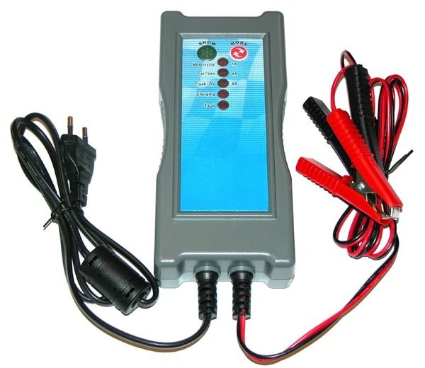 Battery charger 12V-1/4/6 Amp.