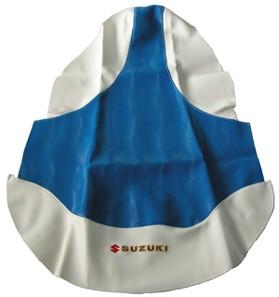 Seat cover blue Suzuki LTZ400