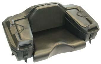 Rear cargo-box (seat) - black