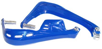 Atv hand guard set blue