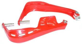 Atv hand guard set red