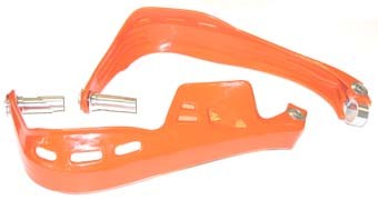 Atv hand guard set orange