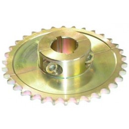 Rear sprocket divisible 36T/42