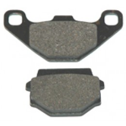 Brake pad set rear disc brake