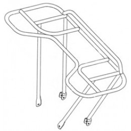 Luggage carrier front K150