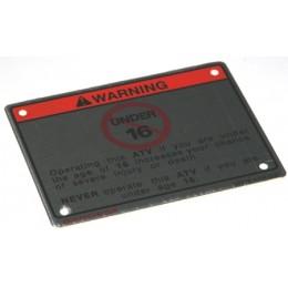 Label warning 2