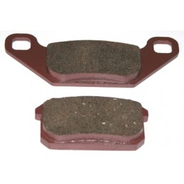 Brake pad set (parking)