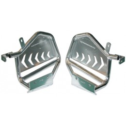 Set heel guards Suzuki LTR450