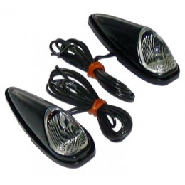 Beetle lights black/red/white