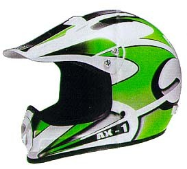 Helmet Axion AX1 L green
