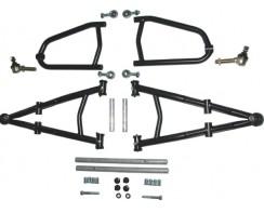 A-Arm kit Black powdercoated