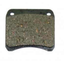 Brake pad set square