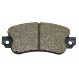 Brake pad set wide
