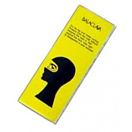 Balaclava in yellow box