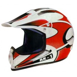 Helmet Axion AX1 M red