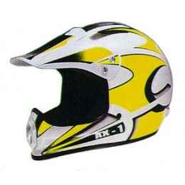 Helmet Axion AX1 M yellow