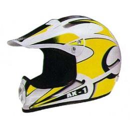 Helmet Axion AX1 L yellow